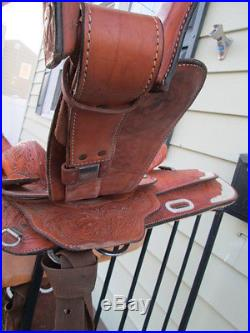 Lightly Used 15 Circle Y Western Equitation Show Saddle ESTATE ITEM NO RESERVE