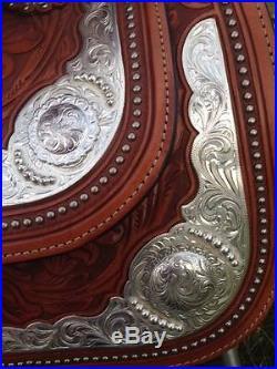 Lightly Used 16 Circle Y Western Equitation Show Saddle