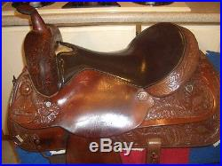 Lovely Circle Y 15.5 Park & Trail Saddle. SQHB. 99 Cent Opening Bid, No Res