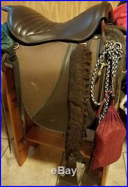 M&W Lite Trooper Saddle
