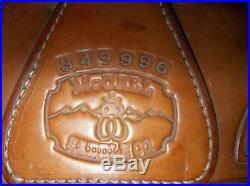 Maccall wade saddle, mfg. 1996 SQH bars, 16 tree, flat plate rigging, 5cantle
