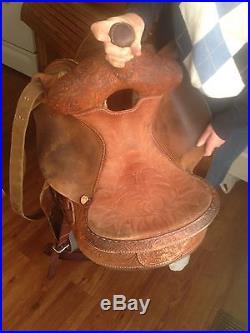 Martha Josey 14 Ultimate Barrel Racing Saddle