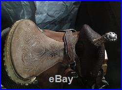 Martha Josey Barrel Saddle 14 Circle Y