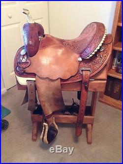 Martha Josey Ultimate Pay Window Circle Y 15 Barrel Saddle