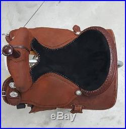 Martin 15 Cervi Crown C Roughout Barrel Saddle. Black Suede Seat. BRAND NEW