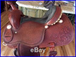 Martin Sheri cervi Barrel saddle 14.5 Inch Seat