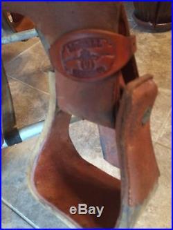 McCall Custom Jordan Valley 3B Wade Saddle 15 FQHB