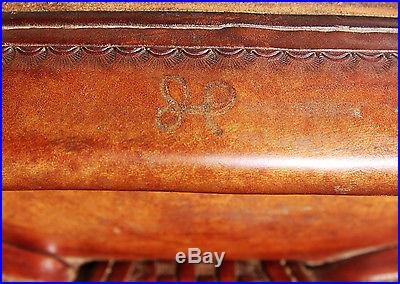 McCall Saddlery USED SADDLE & BACK CINCH 2001 GREAT CONDITION