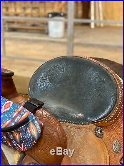 Molly Powell Xtreme 14 Barrel Saddle