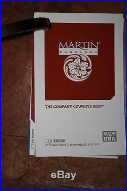 NEW MARTIN SADDLERY WORKING COWHORSE SADDLE