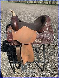 NEW With Tags Circle Y High Horse Eden Barrel Saddle Wide Treee