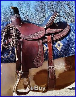Nearly New 15 Dakota Ranch A Fork tree Saddle | Western Saddles