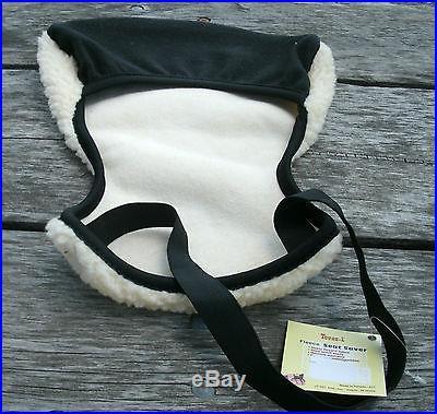 New fleece seat saver Western saddle cushion Tough 1