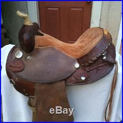 Nice Circle Y 14 Martha Josey Western Barrel/Games/Trail Saddle