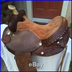 Nice Circle Y 14 Martha Josey Youth Western Barrel Saddle