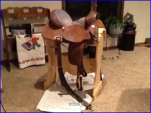 Nice Teskeys 15 Inch Barrel Saddle