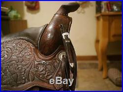 Older Circle Y Pleasure Show Saddle