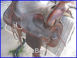 Older Circle Y Ranch Saddle