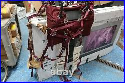 Pack Saddle Pannier for Horses White Pad + Brown Pad Available Custom Made -D20
