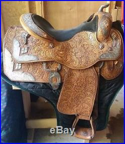 Phil Harris Used Western Pleasure Show Saddle