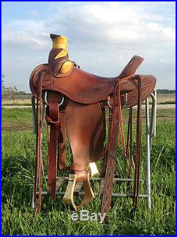 Quality 15.5 Wade Ranch Saddle! Sells With No Reserve