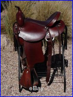 Queen Valley Steve Edwards Mule Trail Saddle 16 | Western