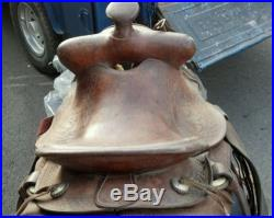 RARE Denver Dry Goods saddle 30s-40s Rodeo vintage antique western rare