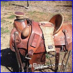 Rafter W roping western saddle 16 inch | Western Saddles