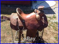 Rafter W roping western saddle 16 inch