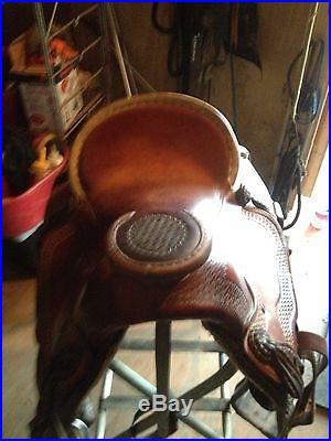 Roping Saddle 16 Dave Shay