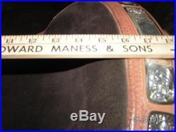 SILVER MESA SHOW SADDLE 16 Whole set Hand made