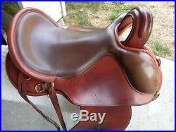 SR Enduro Endurance saddle 15 inch seat, Western fenders