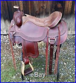 Saddle Western Tucker Trail Saddle Tucker Saddle Horse Tack Pleasure Saddle
