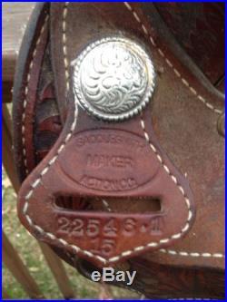 Saddlesmith Maker 15 In Barrel Racing Saddle
