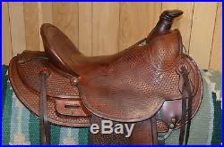Saddlesmith Ranch Roping Western Saddle 15.5 16 inch seat