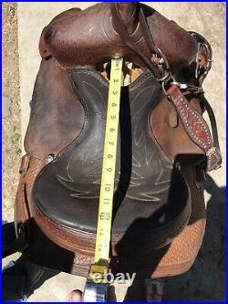 Santa Fe 13 Barrel Saddle