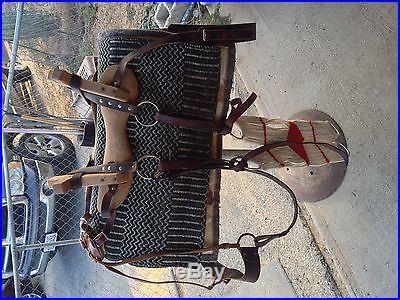 Sawbuck Pack Saddle