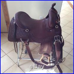 Sean Ryon 17 inch cutting saddle