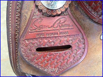 Sean Ryon Cutting Saddle