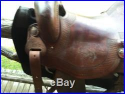 Sean Ryon Tall Cutter Saddle Hard Seat