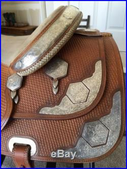 Show Saddle Broken Horn Saddlery REDUCED PRICE