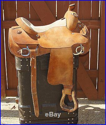 Silver Mesa Work Training Saddle 16