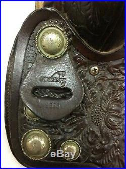 Simco used 15 ShowithTrail Western Saddle Regular Quarter Horse Bar's