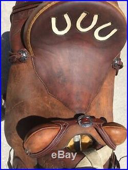 Smith Saddlery Custom Made Wade Ranch Roper Roping, 16 Saddle, Make Best Offer