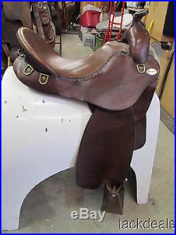Steele Trail Boss Gaited Horse Saddle Lightly Used Large 17