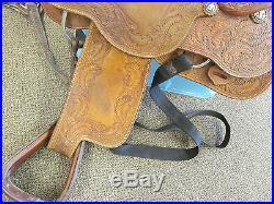 Stran Smith Cactus Saddlery Roping Saddle