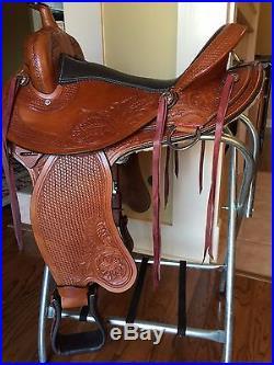 TN Saddlery 15 Gaited Western Saddle Lewisburg (Improved)