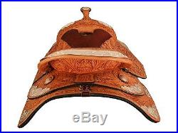 Tahoe Supreme Floral Tooled Western Silver Show Horse Saddle Wholesale Price
