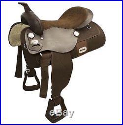 Tahoe Tack 6 Item Easy Ride Pleasure Trail Western Horse Saddle Set Select Size