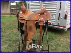 Teskeys Barrel Racing Saddle